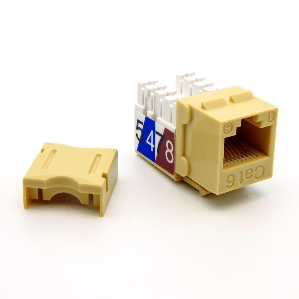 Iofast  U00bb Keystones  U00bb Cat6 110 Type  U00bb Cat6 110 Style Keystone Insert